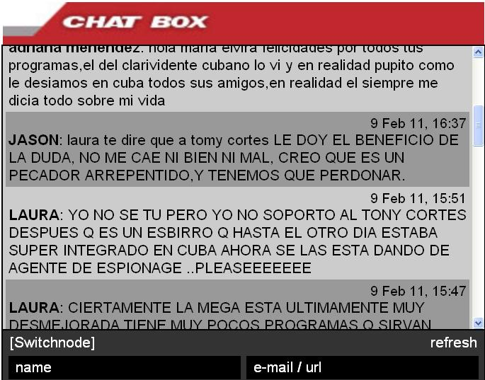 ¿Anticastrismo fantasma? Editorial Cuba Nuestra (www.cubanuestra.eu) 21 de Febrero de 2011 (3/6)